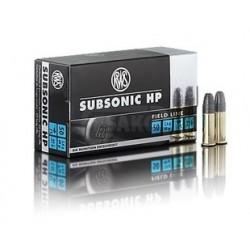 22 LR Subsonic RWS