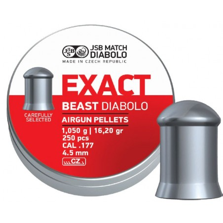 Diabolo JSB Exact Beast 4,52mm (.177)