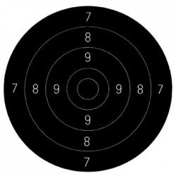 Střed – terč pistolový...