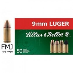 9mm Luger FMJ Sellier&Bellot